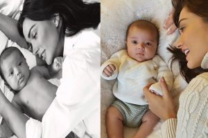Amy Jackson And Her Baby