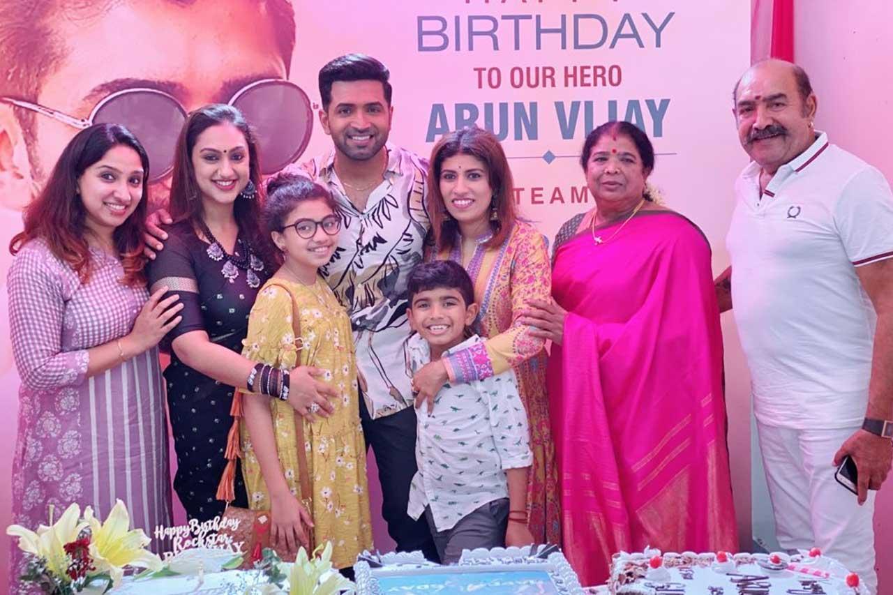 Arun Vijay Birthday Celebration