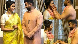 Nithya Ram Engagement