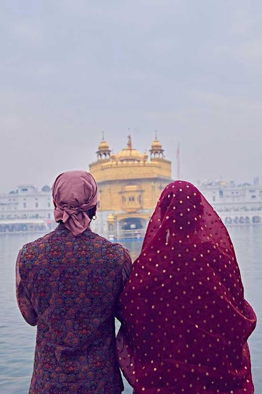 Ranvir Singh and Deepika Padukone.