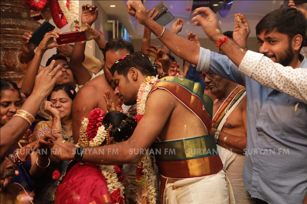 Actor Sathish Marriage Photos